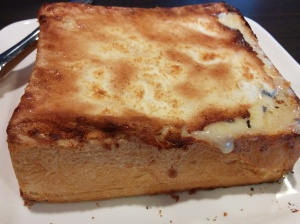 V's fluffy milk toast